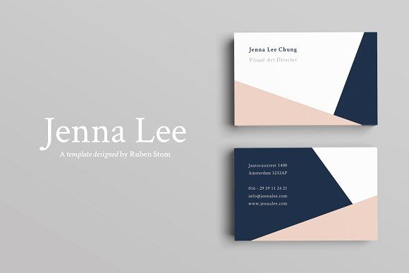 Modern business card by ruben stom on creativemarket design modern business card templates product descriptionthis product is a modern and clean business card template its a fully cus by ruben stom flashek Choice Image