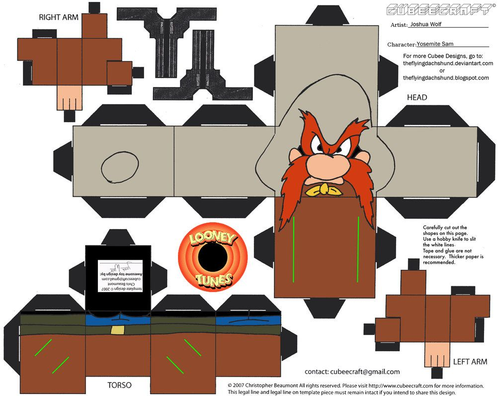 Lt6 Yosemite Sam Cubee By Theflyingdachshund Projects To Try