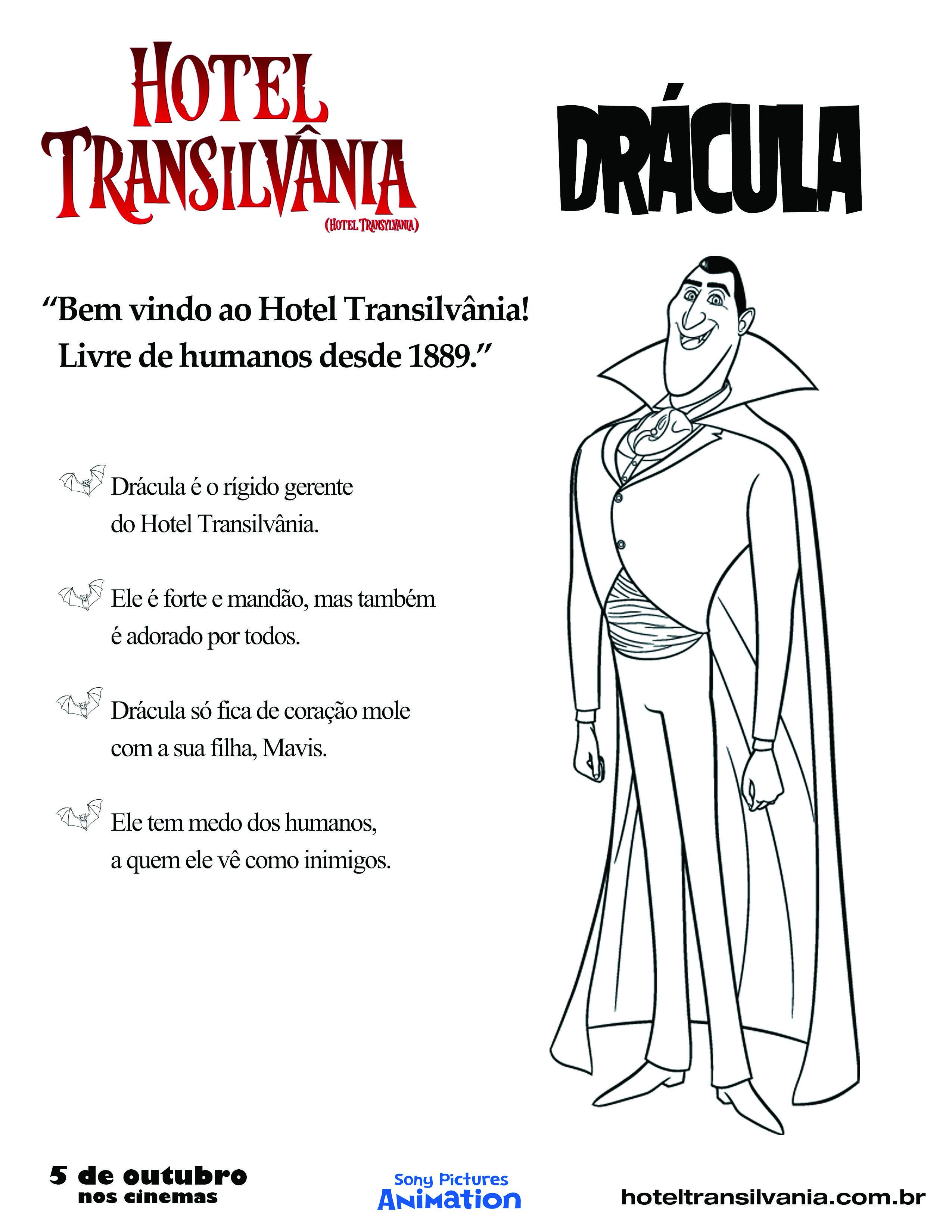 Dracula O Gerente Do Hotel Transilvania