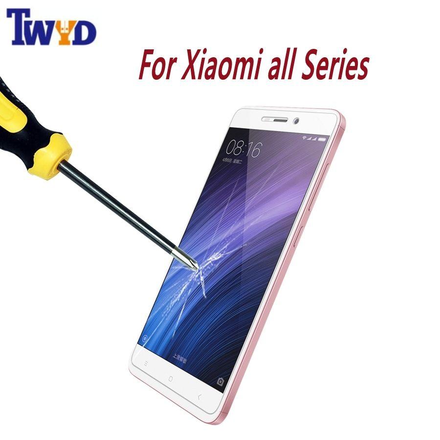 Premium-ausgeglichenes glas-schirm-schutz für xiaomi redmi 3 3 s pro note 3 4 4x hinweis 2 redmi 3 s 4a mi5s mi6 mi5 mi4 mi4 film