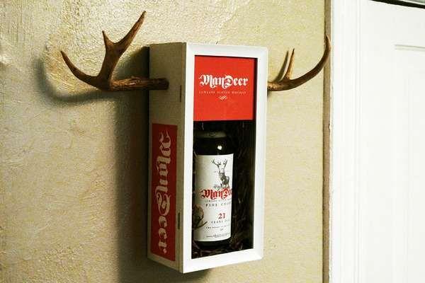 Evan Stremke Gives Mandeer #Whiskey Some #Antlers trendhunter.com