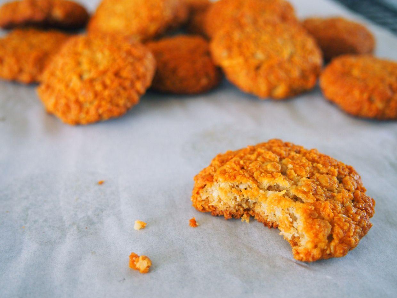Anzac biscuits gluten dairy free options refined