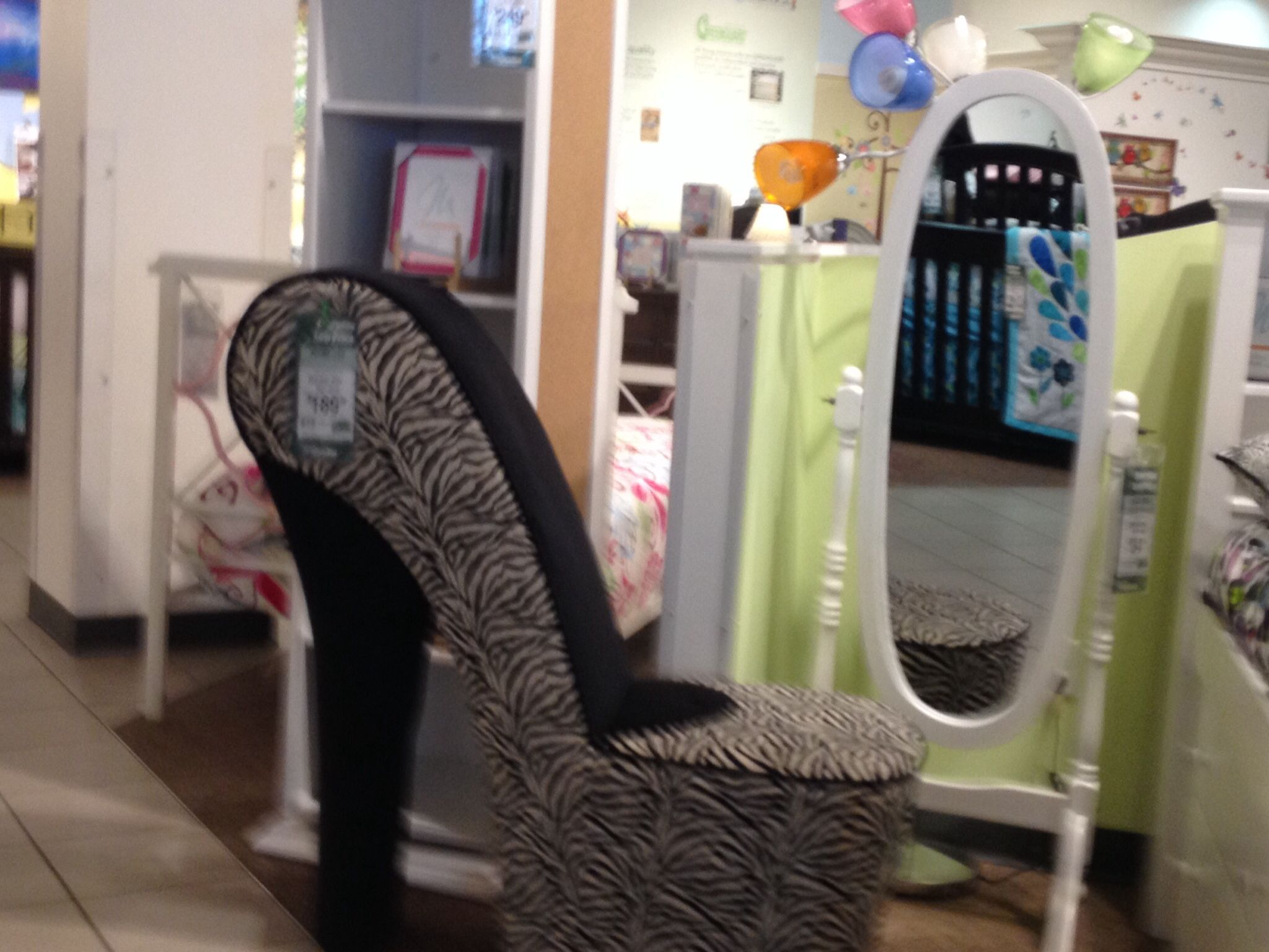 Fun high heel chair High Heel Chair Pinterest