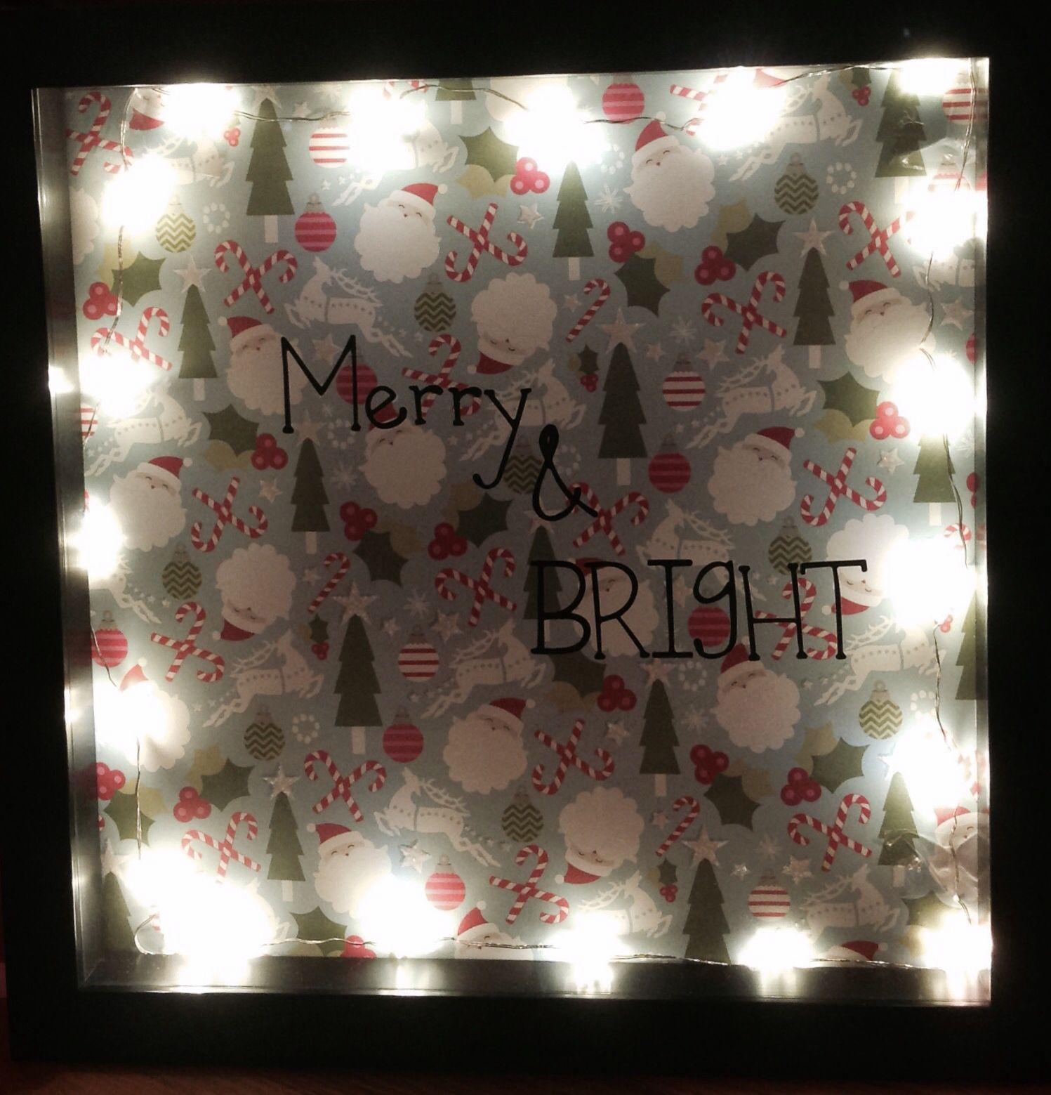 Easy diy light up shadow box frame shadow box frames