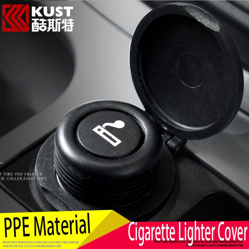 $7.02 (Buy here: http://appdeal.ru/7xsd ) KUST Decorative Cigar Lighter Cap PPE Waterproof For Ford For Kuga 2012 2013 2014 2015  Car Cigarette Lighter Cover For Escape for just $7.02