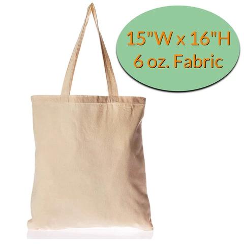 Cotton Canvas Reusable Tote Bags Wholesale Printed Tote Bags Tote Bag Blank Tote Bag