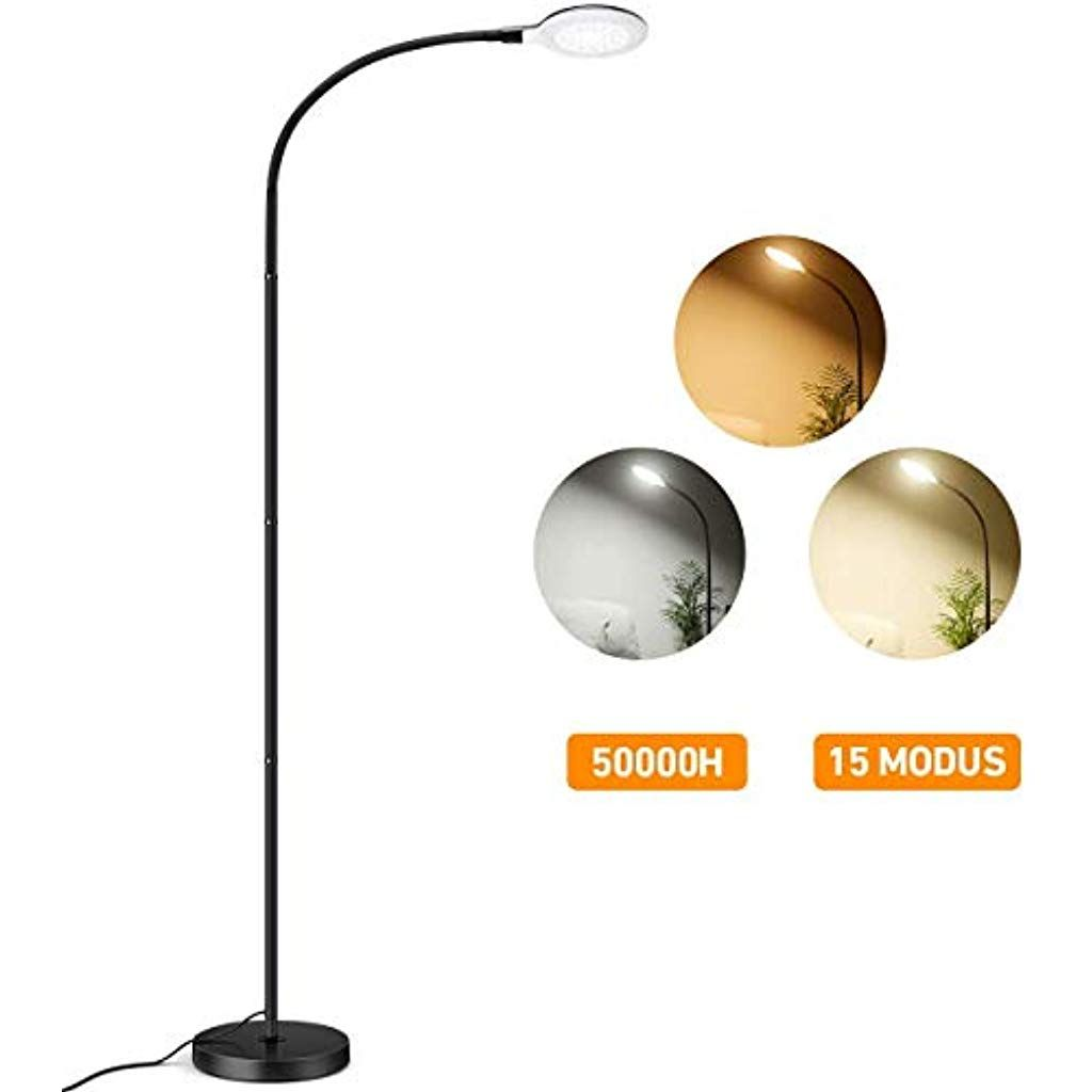 Stehlampe 2019 Upgrade 8w Dimmbare Led Standleuchte Topelek Mit 3