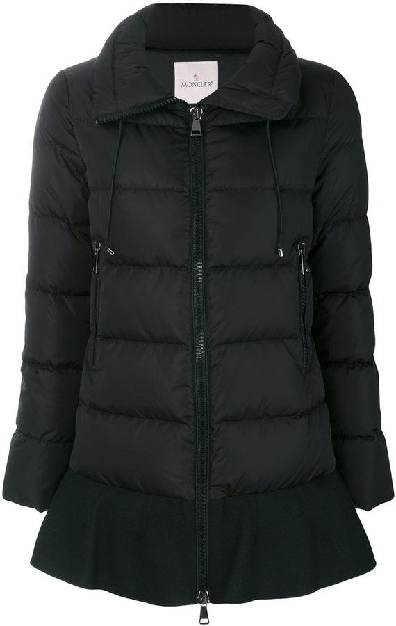 Constructed with a lightweight outer shell and filled with a blend of feathers and goose down, Moncler's jacket is the perfect choice for staying warm this ...