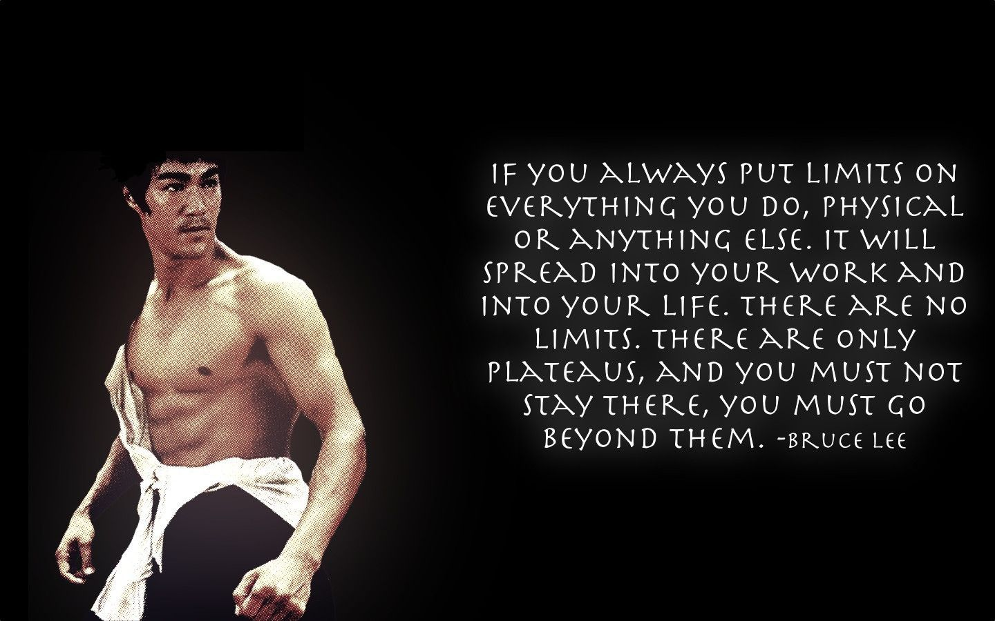 25 Inspirational Quotes From Bruce Lee S Martial Arts Movie