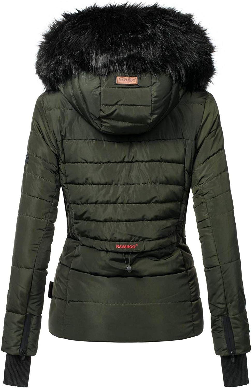 Navahoo Damen Warm Winter Jacke Parka Winter mantel ADELE Steppjacke gefüttert