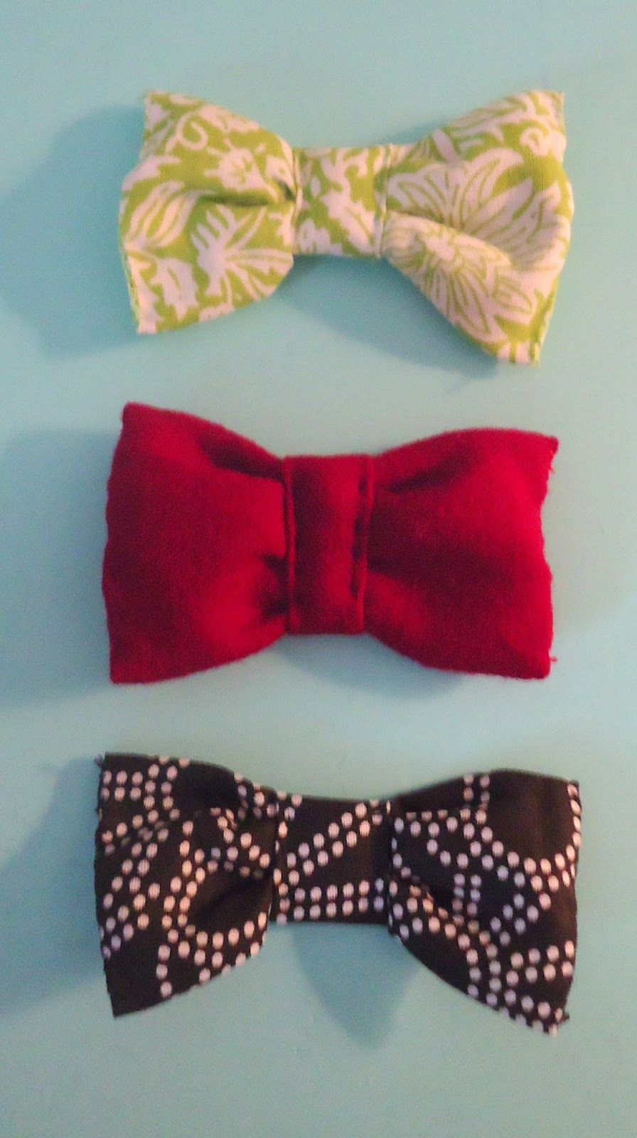how to make a bow in your hair