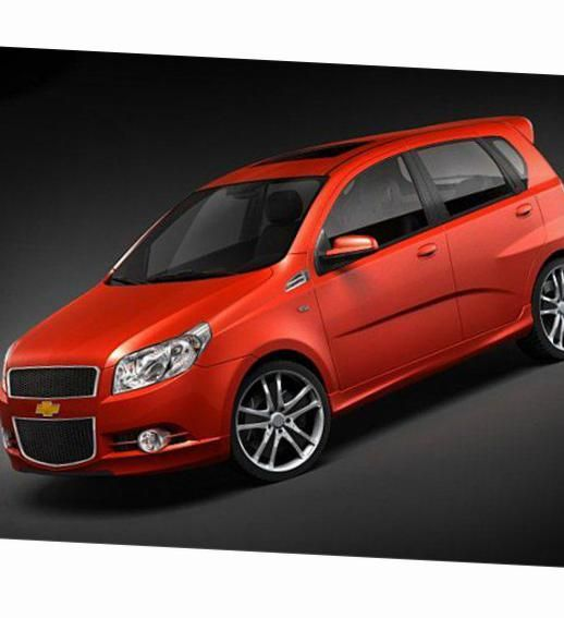 Chevrolet Aveo Hatchback 3d Photos And Specs Photo Chevrolet