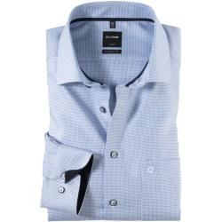 Photo of Olymp Luxor shirt, modern fit, extra short arm, bleu, 38 Olymp