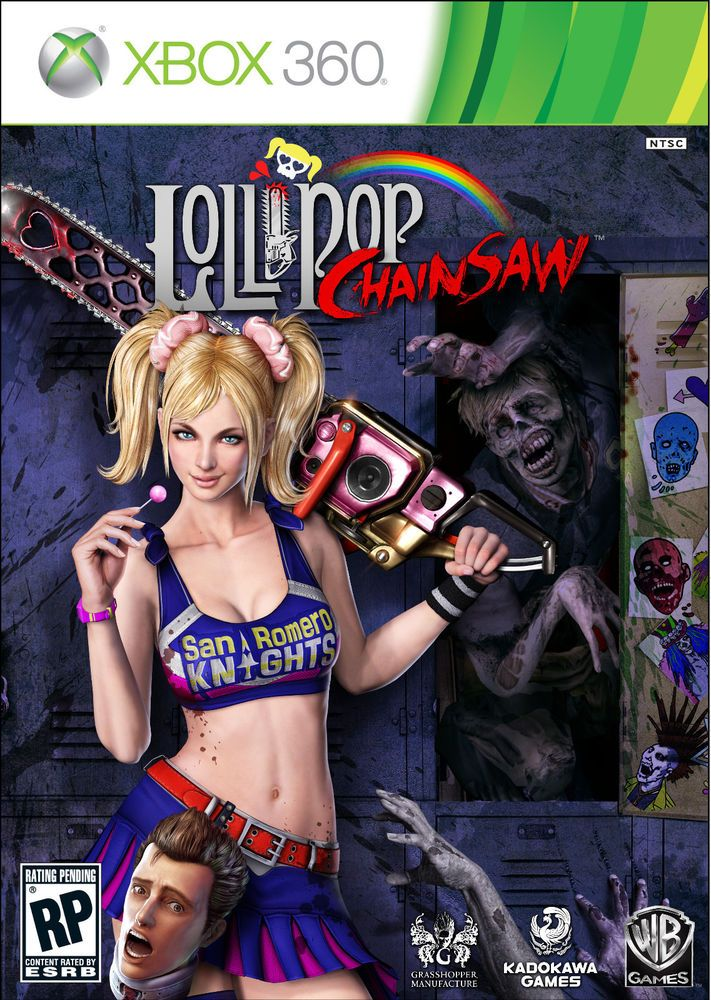 xbox 360 Lollipop Chainsaw (2012) Complete