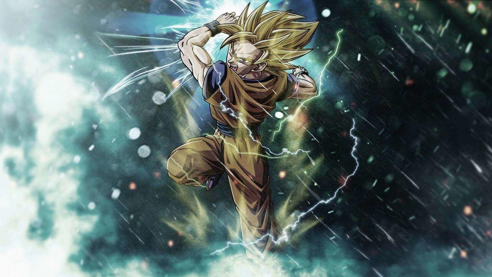 20 Hình nền Anime full HD đẹp cho máy tính   Dragon ball z, Dragon ball  art, Goku wallpaper