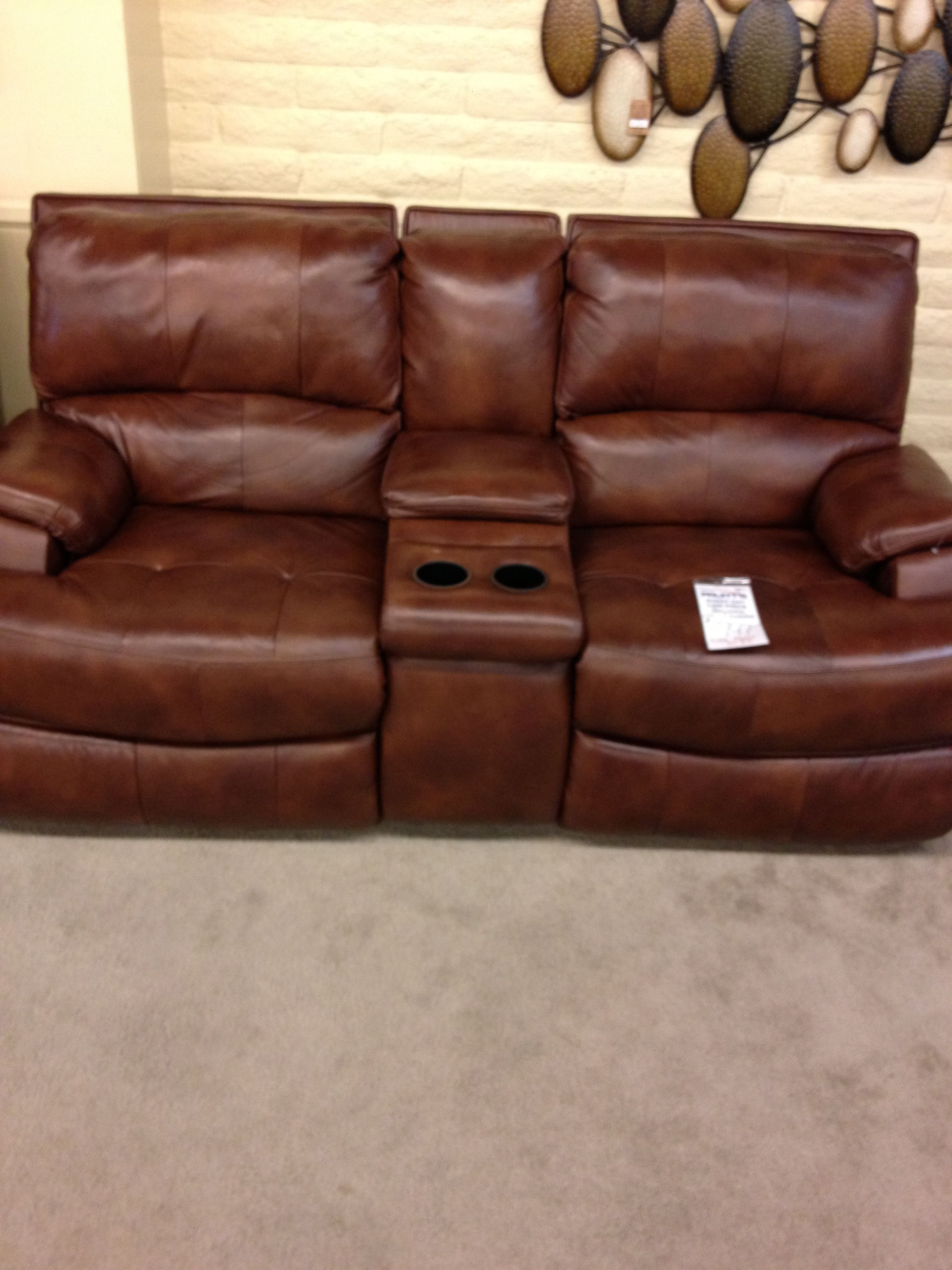 Pruitt S Furniture Loveseat Recliners With Console Man Cave Decor Loveseat Recliners Decor