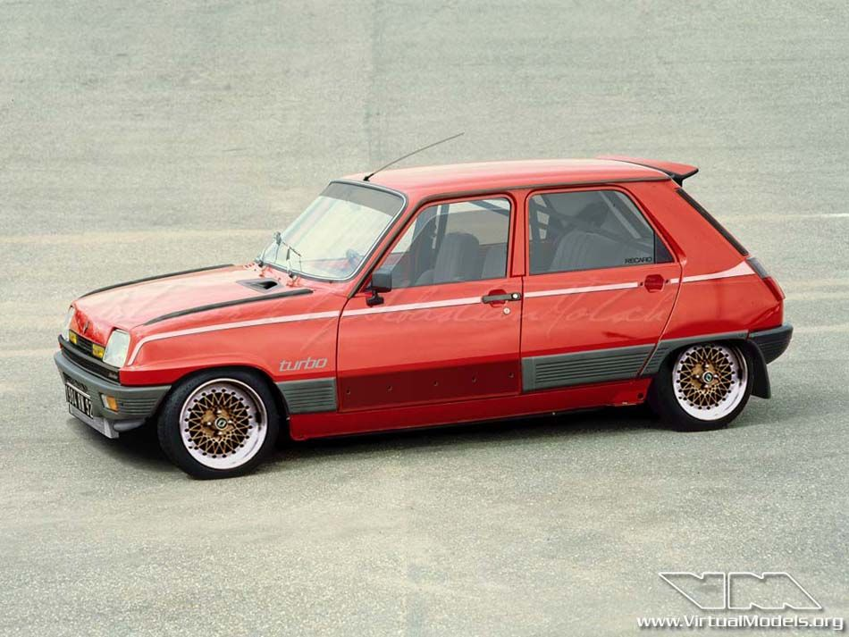 Renault 5 Gtl Turbo By Sebastian Motsch To Ride Pinterest