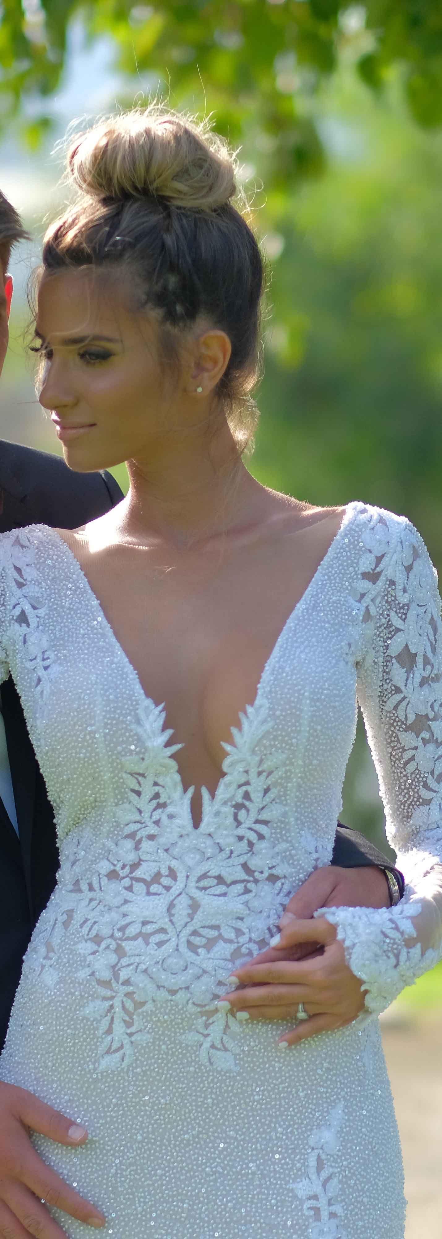 Stunning real BERTA bride in BERTA style 20 20   Wedding gowns ...