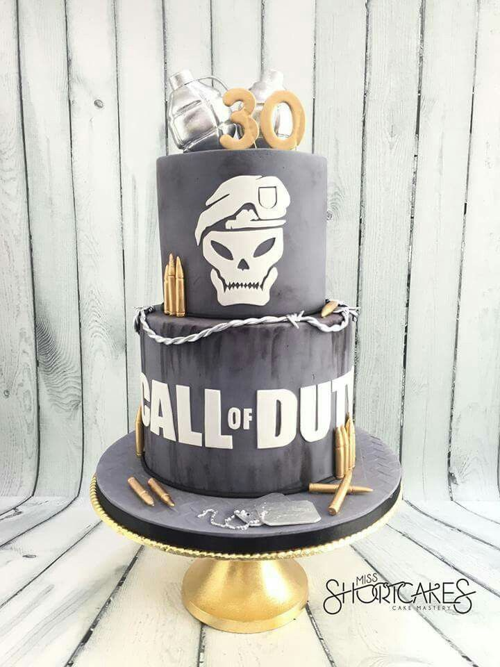Call of duty cake Cakes Pinterest Cake Fondant cakes and Army