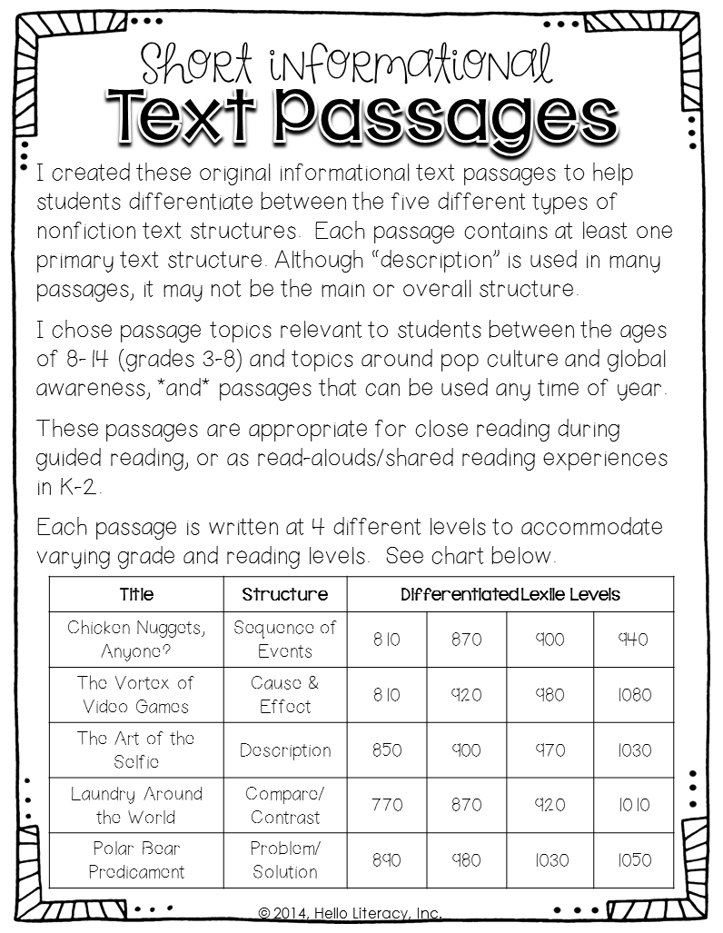 Printables Text Structure Worksheets 5th Grade text structure worksheets 3rd grade davezan davezan
