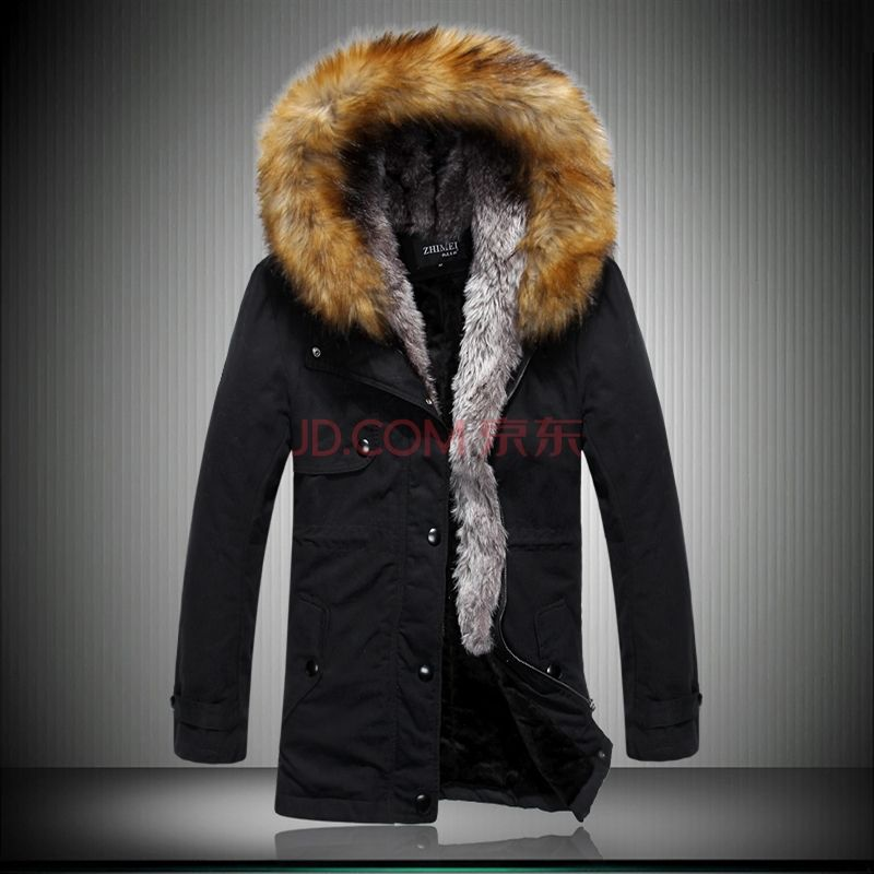 Plus Size M to 4XL Men Jacket Coat Parka Spring New Fashion Tops Casual Dress Winter Wadded Padded Down Jackets for Man Parkas