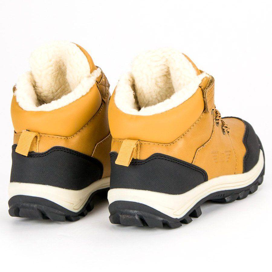 Polbuty I Trzewiki Dzieciece Dla Dzieci Arrigobello Arrigo Bello Zolte Cieple Obuwie Na Zime Boots Shoes Winter Boot