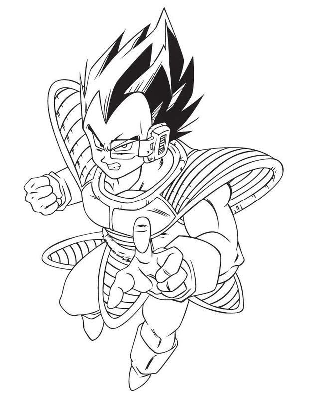 Dibujos De Dragon Ball Z Para Colorear E Imprimir Romantico