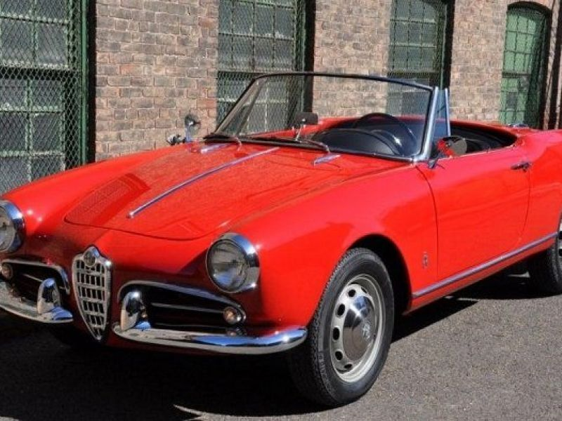 1960 alfa romeo giulietta spider veloce vendre annonces voitures anciennes de collectionc. Black Bedroom Furniture Sets. Home Design Ideas