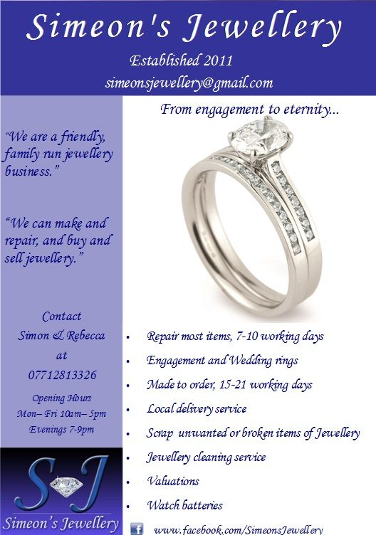 our 1st flyer!! | Selling jewelry, Jewellery advertising ...