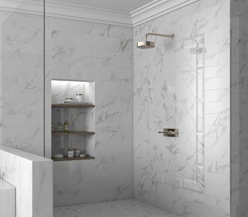 Studio M 4 Quot X 12 Statuario Porcelain Floor Wall Tile