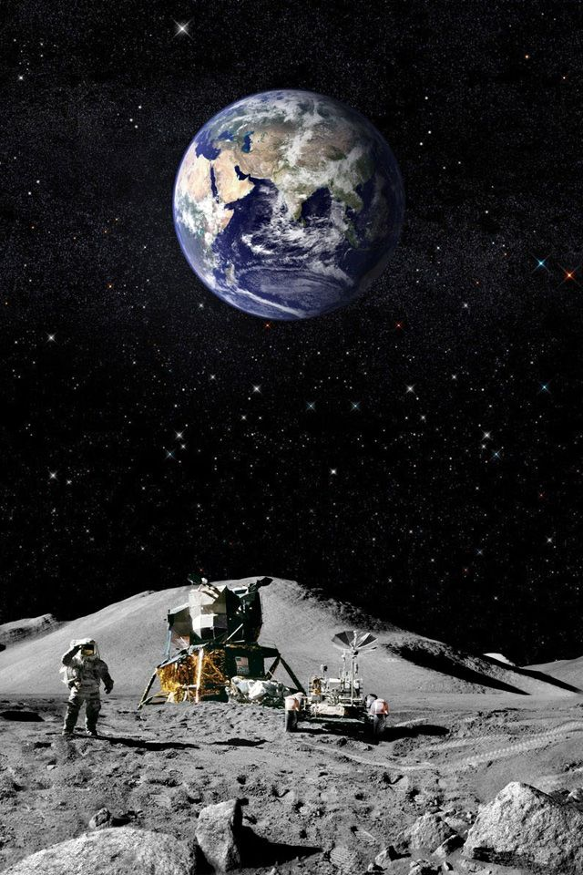 Moon Landing on Pinterest | Neil Armstrong, Space Shuttle ...