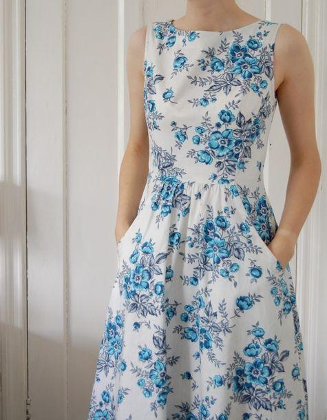 Last Summer Dress #vintage