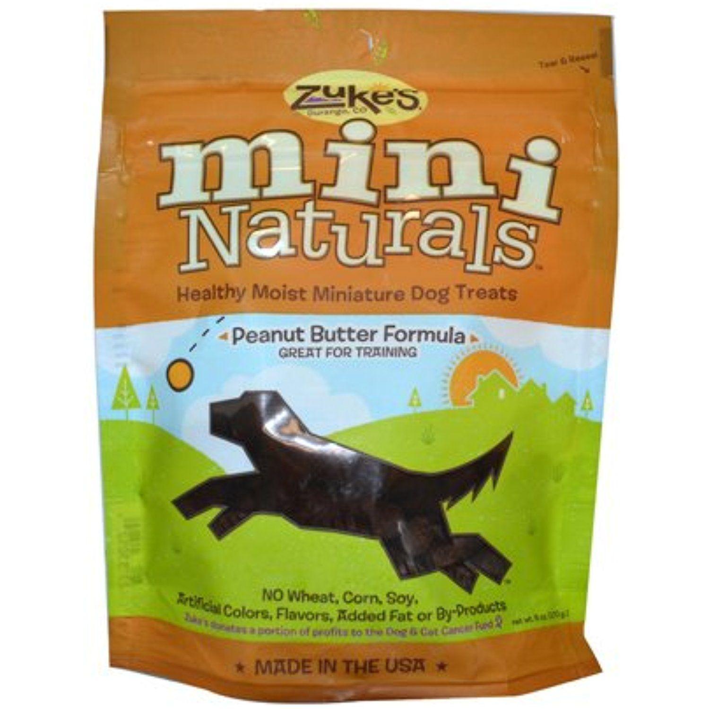Bulk Saver Pack 12x6 Oz Zuke S Mini Naturals Dog Treats Peanut