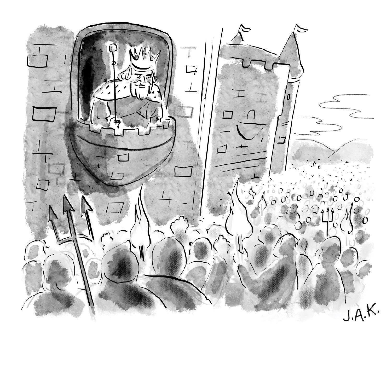 Daily Cartoon Monday June 15th Daily Cartoon New Yorker Cartoons The New Yorker
