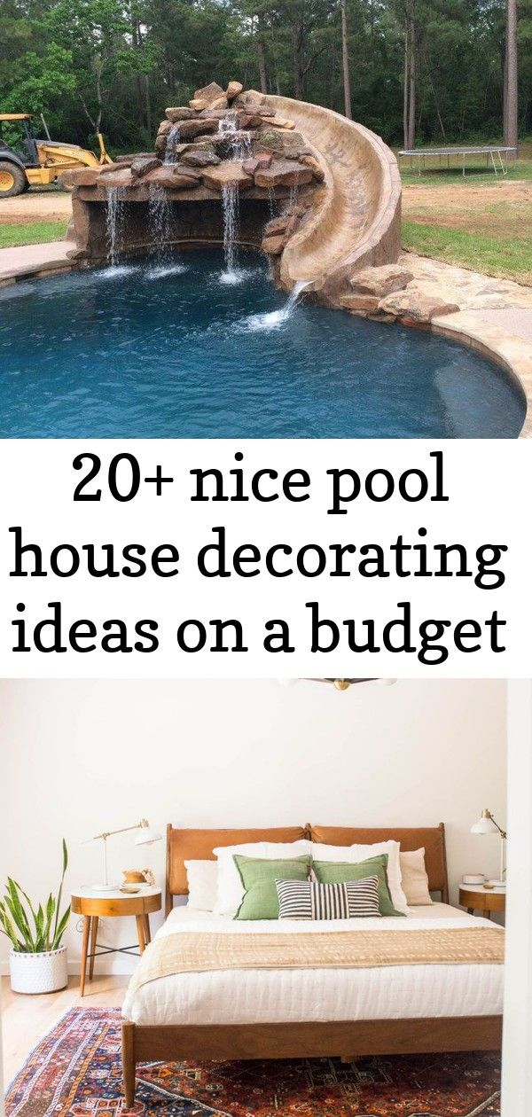20+ nice pool house decorating ideas on a budget Nice Pool House Decorating Ideas On A Budget 40 Mid Century Modern Bedroom featuring plants, white walls, boho textures and more. scandinavian interiors Story of Us – Tree with Photos - 17 Homemade Wedding Decorations for Couples on a Budget - EverAfterGuide