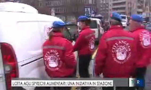 Il servizio di TgR Lombardia (Rai3), andato in onda il 26 dicembre, sul progetto Pasto Buono di QUI Foundation, che da un anno conta sull'aiuto dei City Angels.