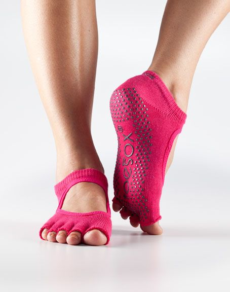 ToeSox Half Toe Bella Grip Socks | Yoga Direct