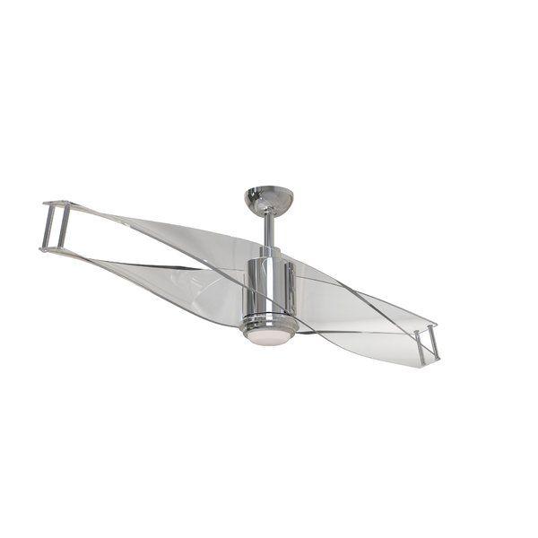 56 Penbrook 2 Blade Led Ceiling Fan With Remote Light Kit