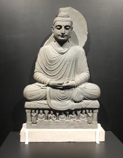 Gandhara Seated Buddha British Museum A History Of The World In 100 Objects Taipei Taiwan British Museum Buddha Statue Statue