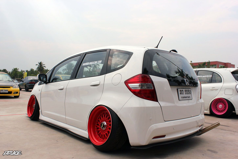 Honda fit car sticker design - Honda Fit
