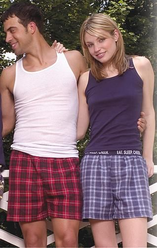 Who Decided Girls Were Allowed To Wear Flannel Boxers As -5683