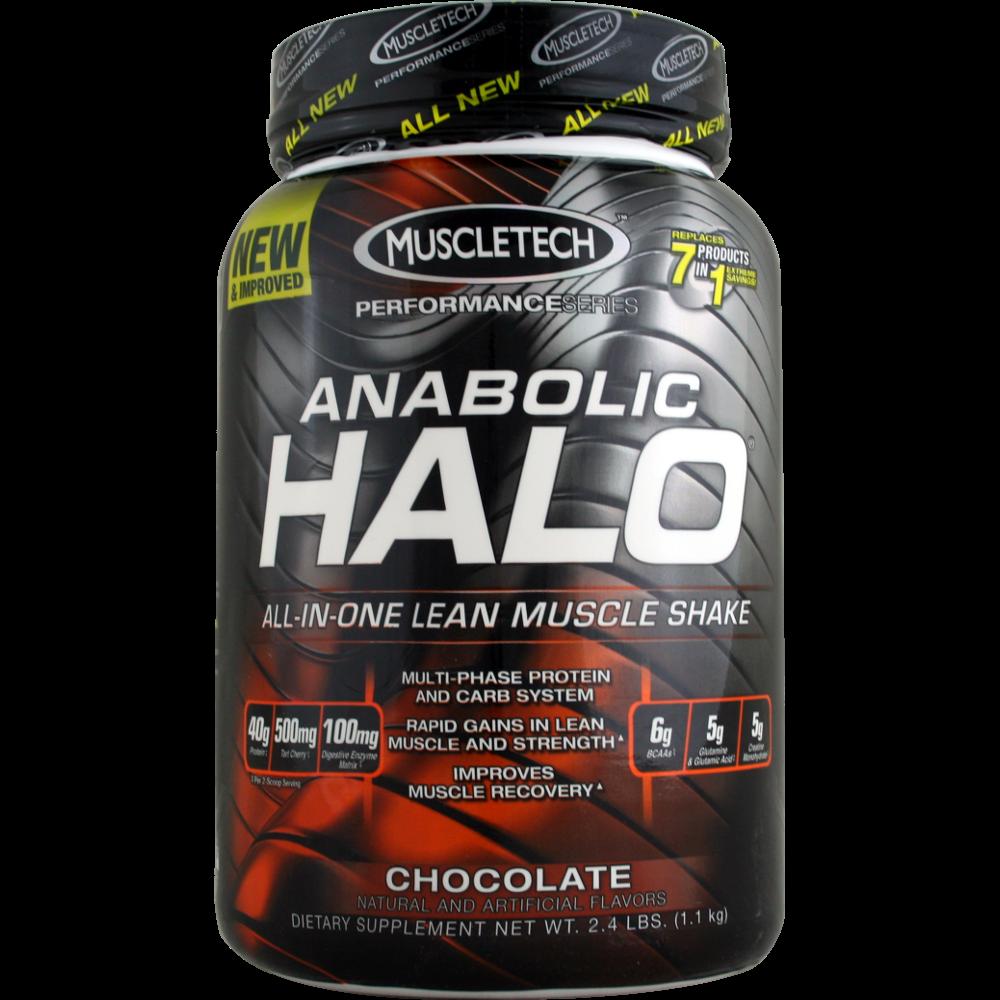 Muscletech Anabolic Halo Performance Chocolate 2 4 Lbs Anabolic Muscletech Supplements