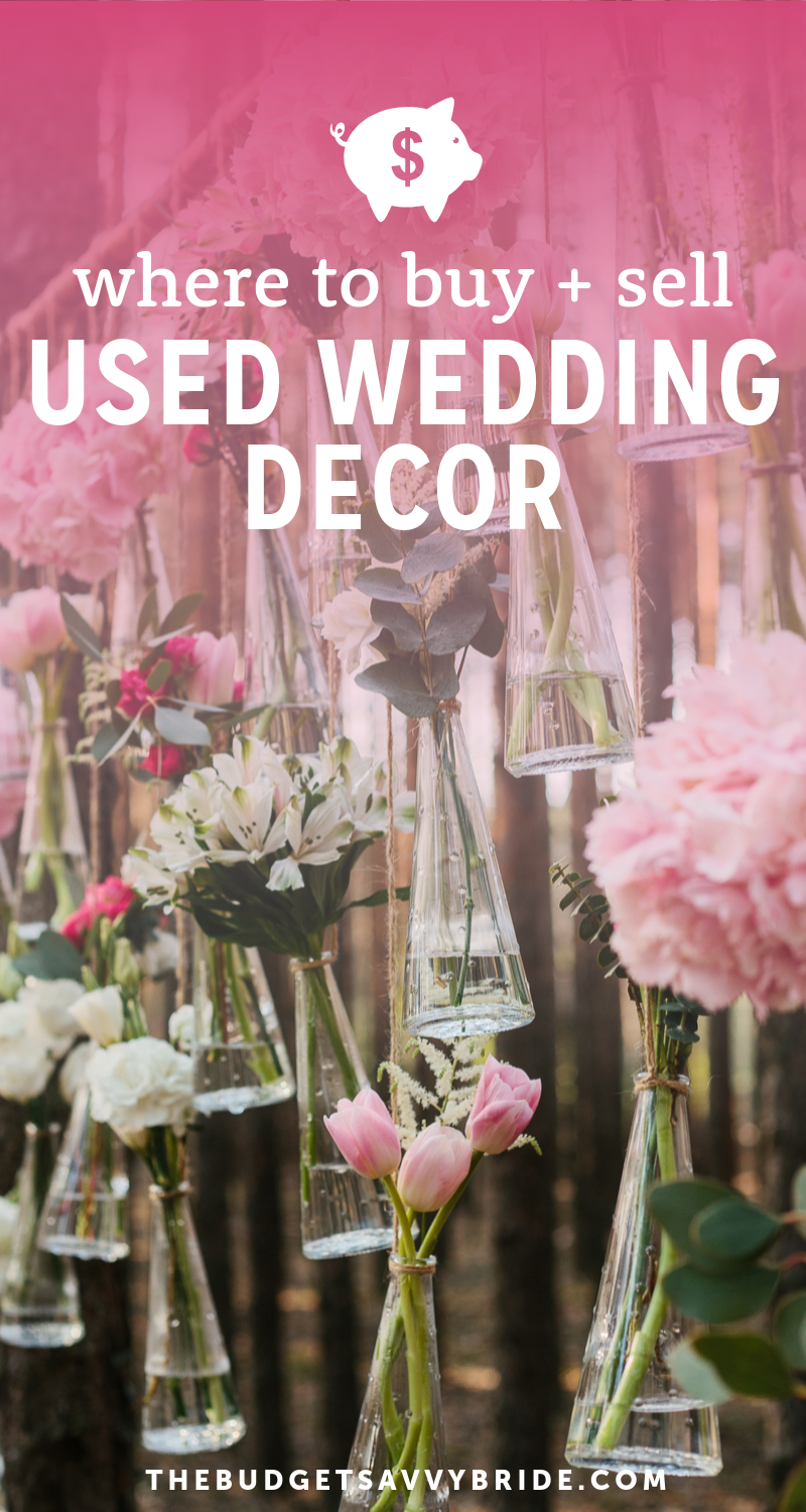 Where To Buy And Sell Used Wedding Decor Online Used Wedding Decor Wedding Decorations Used Wedding Supplies