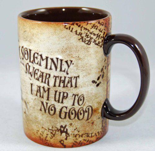 Wizarding World of Harry Potter Marauder\'s Map Ceramic Mug | diy ...