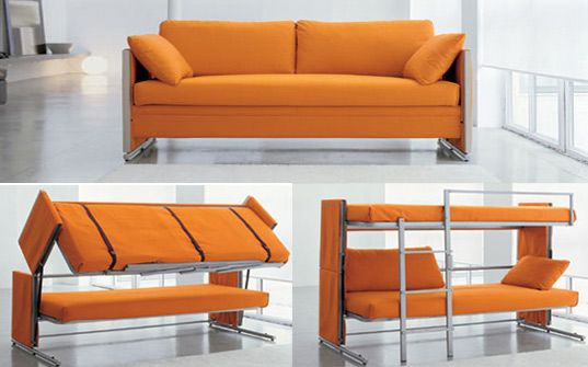 Bonbon S Brilliant Sofa Transforms Into A Bunk Bed In A Snap