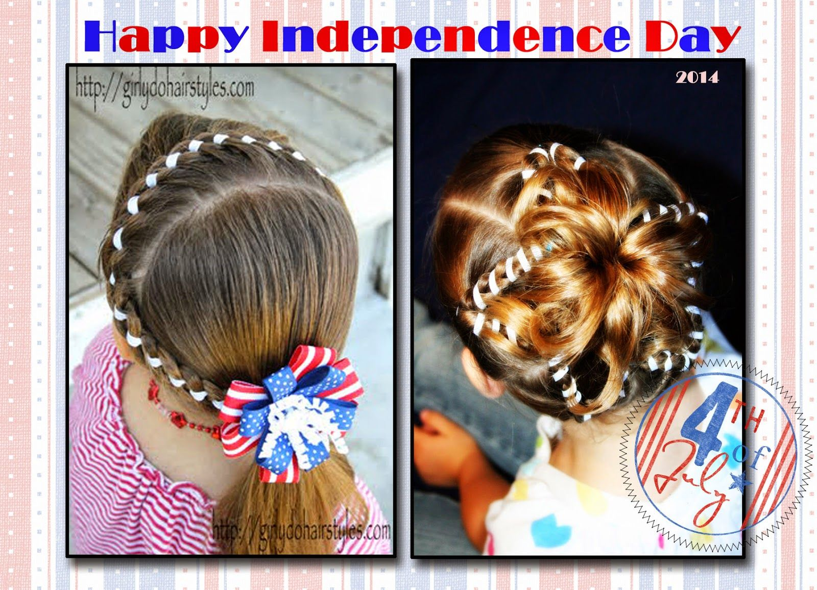 Girly do hairstyles by jenn independence day girls hairstyles