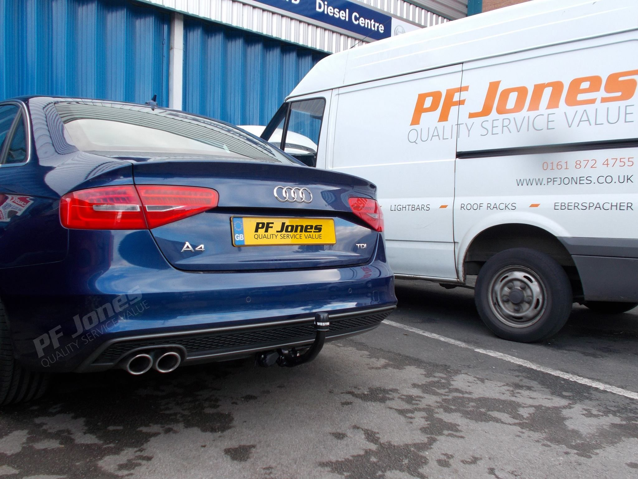Audi A4 Saloon 2013 Has Been Fitted With A Westfalia Uk