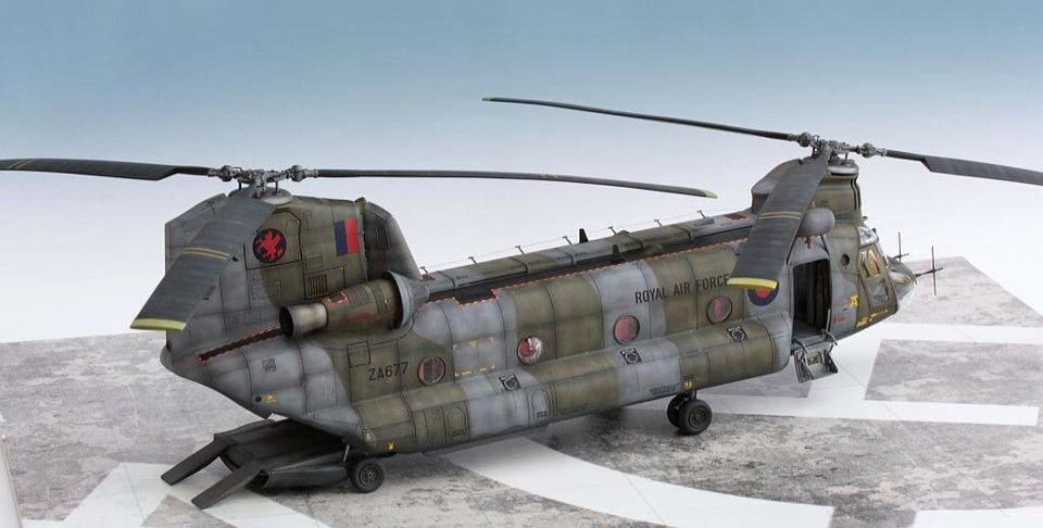 RAF Chinook | Unknown Scale