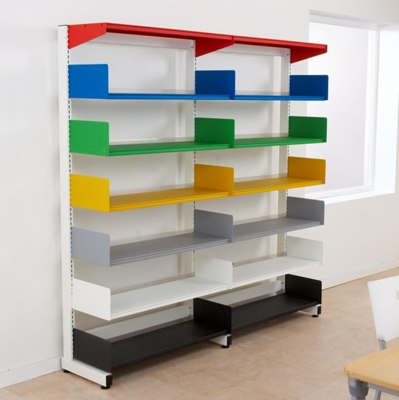 Wall Mount Shelving Mounted