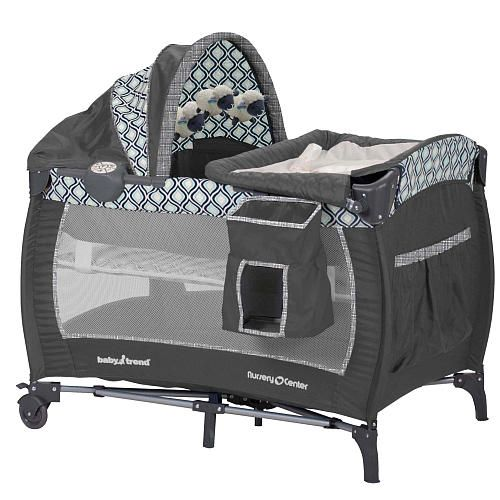 Baby Trend Deluxe Nursery Center Catalina Ice Baby Trend